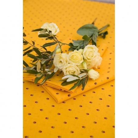 Serviette table tissu imprimé Calissons