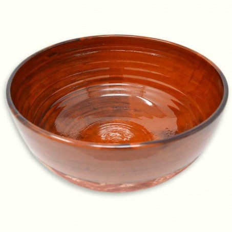 Large ceramic salad bowl