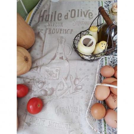 Kitchen towel, Picholine jacquard woven in scene 1