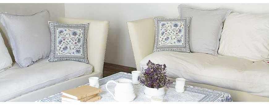 Du beau linge de décoration salle à manger et salon fait en Provence
