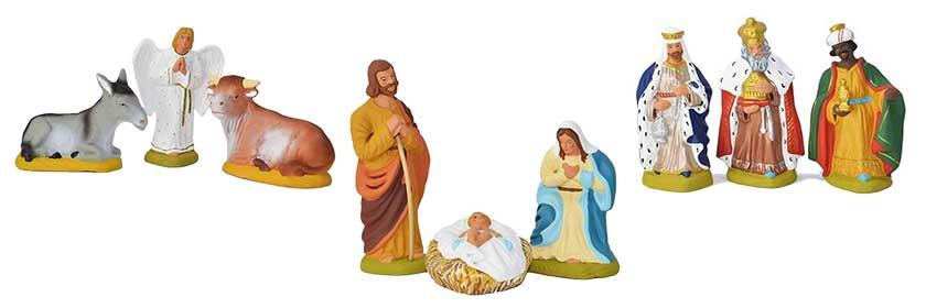 les santons de la nativité