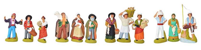 les santons personnages de Provence