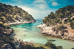 Calanques de Marseilles