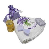 Box autour de la lavande de Provence
