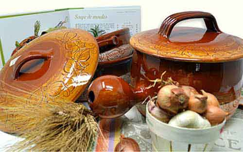 culinary pottery of Vallauris