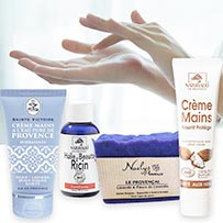 soaps and hands care