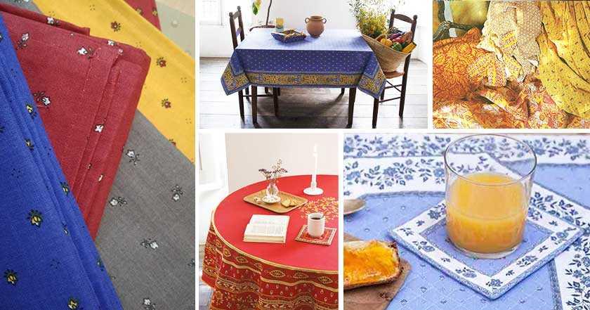 Tissus Imprimés Provençaux et Indiennes de Provence