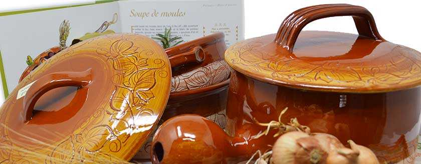 The culinary pottery of Vallauris
