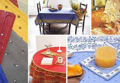 Provencal printed fabrics and indiennes of Provence